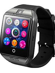 Smartwatch q18 com câmera touch screen para telefone Android