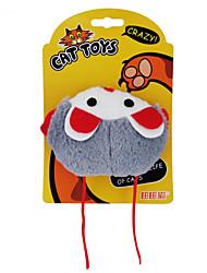 preiswerte -Katzenspielsachen Haustierspielsachen Katzenminze Plüsch-Spielzeug Cartoon Design Maus Für Haustiere