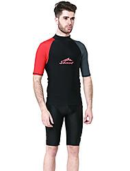 preiswerte -SBART Herrn Schutz gegen Hautausschlag UV-Sonnenschutz, SPF50, warm halten Chinlon Kurzarm Strandbekleidung Schutz gegen Hautausschlag /