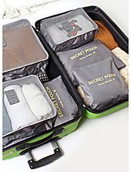 cheap -3 sets Luggage Organizer / Packing Organizer Travel Storage for Travel Storage Gray Green Blue Blushing Pink