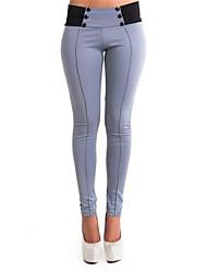 billige -Dame Klassisk & Tidløs Skinny Jeans Bukser Helfarve