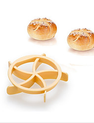 cheap -Homemade Bread Rolls Mold for Bread Kaiser Line Mould Kitchen Pastry Baking Tools Kaiser Roll Maker