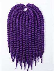 blue Havana Twist Braids Hair Extensions 24inch Kanekalon 2 Strand 80-120g/pcs gram Hair Braids