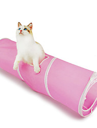 Cat Cat Toy Pet Toys Tubes & Tunnel Foldable Textile For Pets