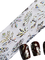Недорогие -Цветы-Блеск-Пальцы рук / Пальцы ног-5*3*3-1pcs-Прочее