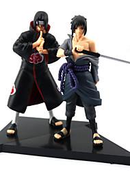 baratos -Figuras de Ação Anime Inspirado por Naruto Sasuke Uchiha PVC 16 CM modelo Brinquedos Boneca de Brinquedo