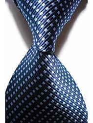 Cravatta-A reteDIPoliestere-Blu