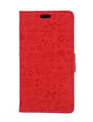 economico -Per Custodia Huawei / P9 / P9 Lite / P8 Lite / Mate 8 A portafoglio / Porta-carte di credito / Con supporto Custodia Integrale Custodia