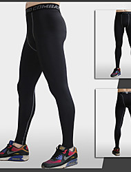 cheap -Men's Running Pants - Black, Gray Sports Fashion Pants / Trousers Fitness, Gym, Workout Activewear Quick Dry, Breathable, Compression Stretchy / Sweat-wicking