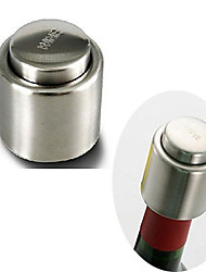 cheap -Stainless Steel Vacuum Sealed Red Wine Storage Bottle Stopper Plug Bottle Cap Wine Stoppers