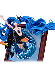 billiga -Anime Actionfigurer Inspirerad av Vocaloid Hatsune Miku 23 cm CM Modell Leksaker Dockleksak