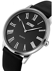 cheap -SKMEI® Men's Ultra Slim Dress Watch Japanese Quartz Water Resistant Cool Watch Unique Watch Fashion Watch