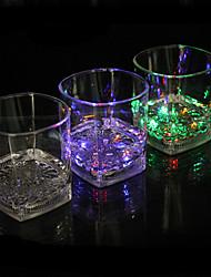 economico -ha condotto la luce di induzione bicchiere d'acqua che emette quartetto colorato colore cup