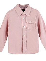abordables -Camiseta Chica deAlgodón-Primavera / Otoño-Rosa