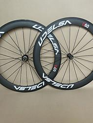 abordables -Roues de Vélo(,Entièrement en carbone) deRoute-Tubulaire-700C