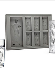 cheap -Ice Tray Han Solo In Carbonite Ice tray Silicone Jelly Chocolate Cake