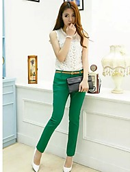 cheap -Women's Casual Skinny Jeans Pants - Solid Colored