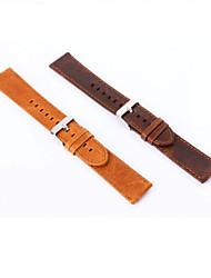 preiswerte -20 mm echtes Leder-Sport-Uhr-Schnalle für Samsung-Gang s2