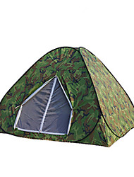 economico -3-4 persone Tenda Triplo Tenda da campeggio Tenda automatica Tenere al caldo Isolamento termico Antiumidità Ben ventilato Ompermeabile