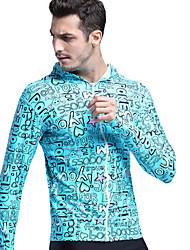 Per uomo Dive Skins Resistente ai raggi UV Chinlon Scafandro Manica lunga Top sottomuta Scafandri Costumi da bagno T-shirt Top-Nuoto