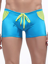 Men's Sexy Color Block Swim Shorts Beachwear Swimwear