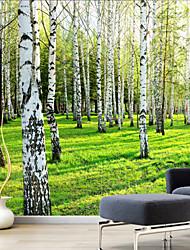 Недорогие -Натюрморт / Пейзаж / ботанический Холст для печати 1 панель Готовы повесить,Вертикальная
