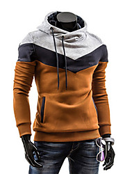 povoljno -Muška Activewear Setovi Dugih rukava-Ležerne prilike / Sport / Plus veličine,Obično Poliester