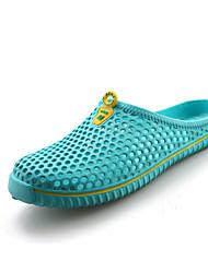 Femme Sabots & Mules Confort Silicone Printemps Eté Automne Décontracté Chaussures d'Eau Marche Confort Talon PlatBlanc Noir Bleu de