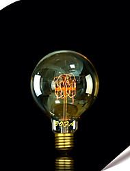 billige -1pc 40 W 350 lm E26 / E27 G95 LED Perler 220-240 V