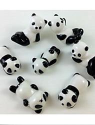cheap -4 pcs Chopsticks Holder Ceramic Porcelain Cute Panada