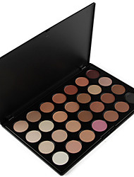 abordables -28 colors 5in1 maquillaje base blusher blusher fundación bronzer smoky eyeshadow profesional cosmético paleta