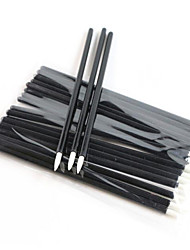Einweg-Eyeliner-Pinsel 100pcs / Packung Eyeliner Make-up-Tools Applikator