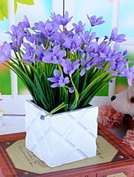 Seda / Plástico Orquideas Flores artificiais