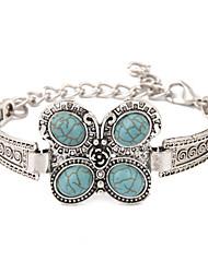 Bracelet Bracelets Vintage Alliage Turquoise Autres Original Mode Pierres de naissance Mariage Soirée Quotidien Décontracté Sports Bijoux