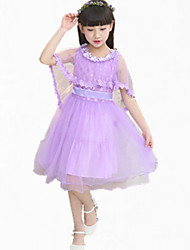 cheap -Girl's Dress,Lace / Dresswear Cotton Summer