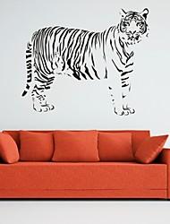 Tiere / Romantik / Mode / Abstrakt / Fantasie Wand-Sticker Flugzeug-Wand Sticker,PVC M:42*50cm / L:55*66cm
