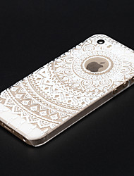 """cheap -Colorful Flower Painted Pattern Slim Plastic Back Hard Case For iPhone 5S 4.0"""""""