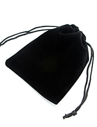 3 PCS Black Fabric Velvet for Jewerly Store Package (11cm*9cm,set of 3)