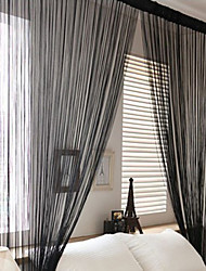 One Panel Curtain Country Living Room Polyester Material Curtains Drapes Home Decoration For Window