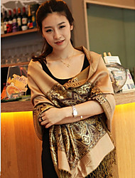 Female Waterproof Warm Autumn And Winter Long Section Of Thick Scarf Shawl
