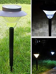 Недорогие -HHR @ открытых солнечных 16 светодиодов свет сад двор путь зеленый пейзаж мощность лампы