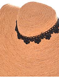 cheap -Women's Tattoo Style Choker Necklace Torque Gothic Jewelry Tattoo Choker Lace Fabric Choker Necklace Torque Gothic Jewelry Tattoo Choker ,