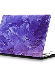 abordables -MacBook Funda Cuadro al Óleo El plastico para MacBook Air 13 Pulgadas / MacBook Air 11 Pulgadas