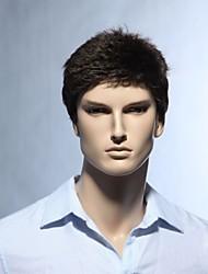grado superiore senza cappuccio 100% mono qualità parrucca di capelli umani parrucche superiori degli uomini dei capelli umani per l'uomo