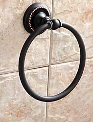 abordables -Anneau à Serviette Gadget de Salle de Bain / Bronze Huilé Contemporain