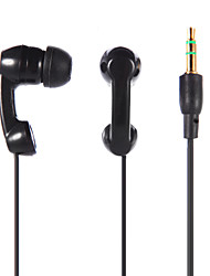 economico -Stereo da 3,5 mm in-ear auricolari auricolare per iPod / iPad / iPhone / MP3 nero / bianco TP-888
