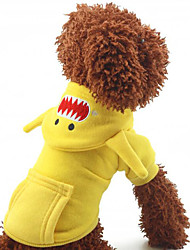 abordables -Perro Abrigos Ropa para Perro Amarillo Rojo Azul Terileno Disfraz Para mascotas Hombre Mujer Cosplay Moda
