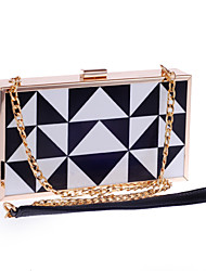 Women Bags All Seasons Poly urethane Special Material Evening Bag for Wedding Event/Party Screen Color