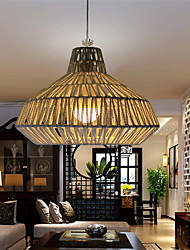 cheap -12W Traditional/Classic LED Others Metal&Rope Pendant Lights Living Room / Bedroom / Dining Room / Study Room