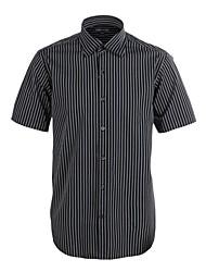 JamesEarl Muži Košilový límec Krátké rukávy Shirt & Halenka Šedá - M21X5001017
